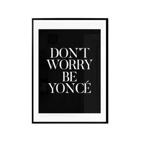"""TRANH CHỮ """"DON'T WORRY""""-0"""