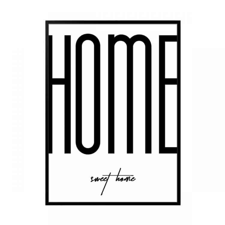"""TRANH CHỮ """"HOME""""-0"""