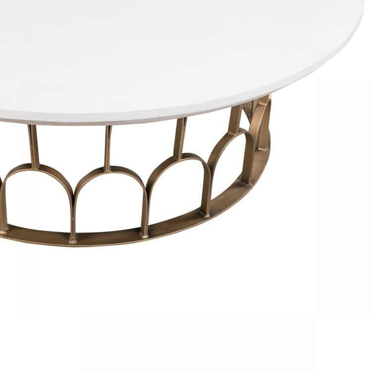 GATSBY COFFEE TABLE 115CM, CONCRETE TOP-4635