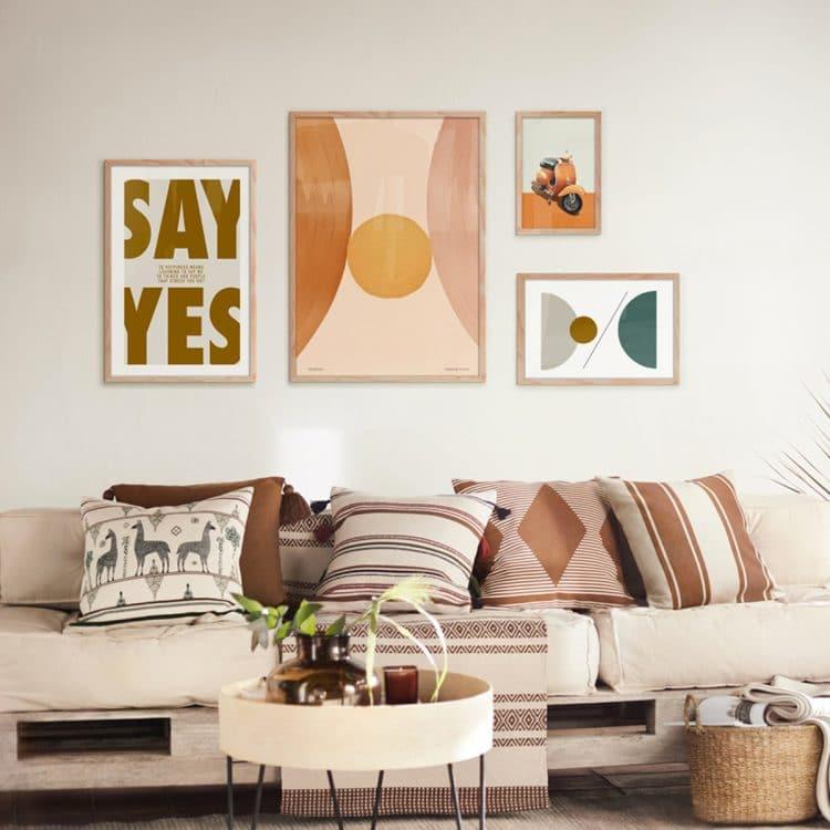 "TRANH CHỮ - ""SAY YES""-5507"