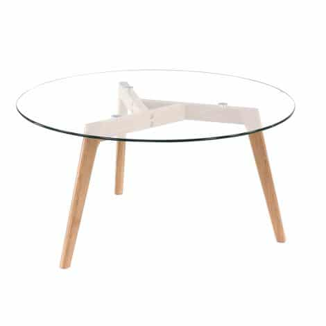 BLOOM COFFEE TABLE 90CM – REFURBISHED 2-0