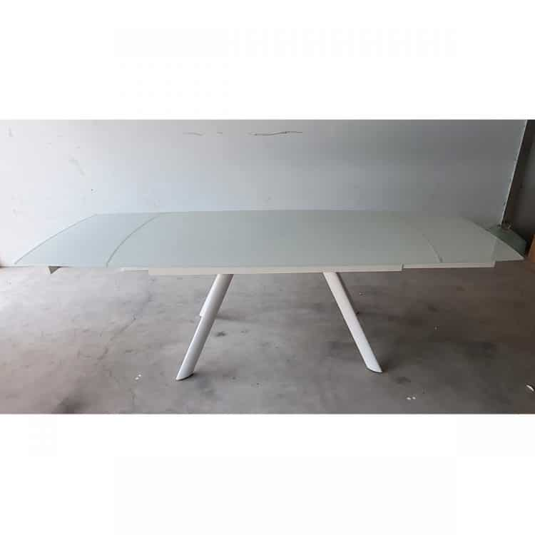 RAVEN EXTENDABLE DINING TABLE 160(+80)CM - REFURBISHED 2-7454