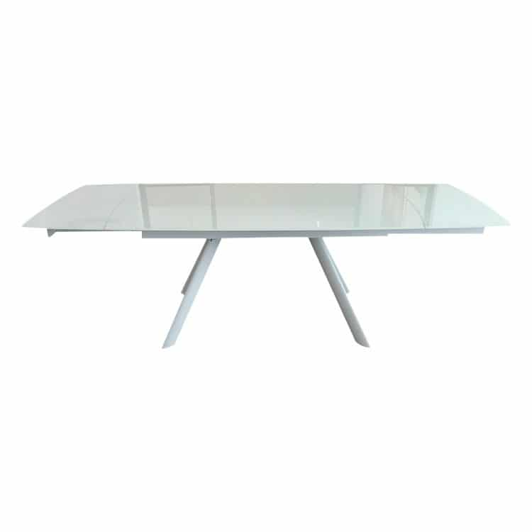 RAVEN EXTENDABLE DINING TABLE 160(+80)CM - REFURBISHED 2-0