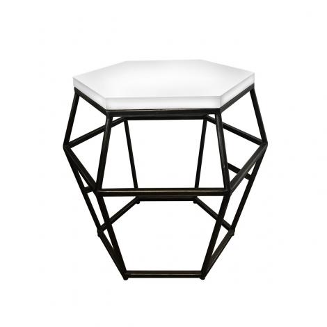 GEOMETRIC LAMP TABLE 55CM-0